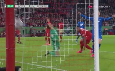 Gol dla Hoffenheim w meczu z Bayernem