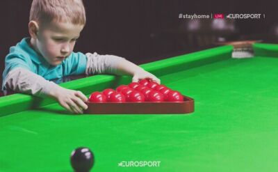 Skąd pomysł na wysłanie dziecko na snookera?