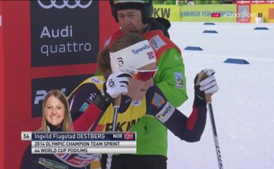 Flugstad Oestberg nową liderką Tour de Ski