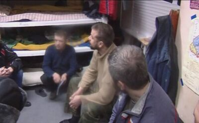 Dziennikarze odwiedzili żołnierzy ukraińskich, którzy trafili do niewoli w trakcie walk o Debalcewe