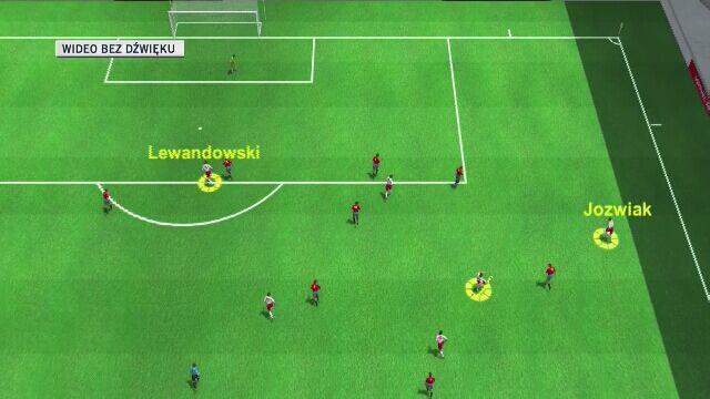 Znakomita akcja i bramka Lewandowskiego
