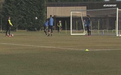 Piłkarze Atalanty trenują przed meczem z Valencią w LM