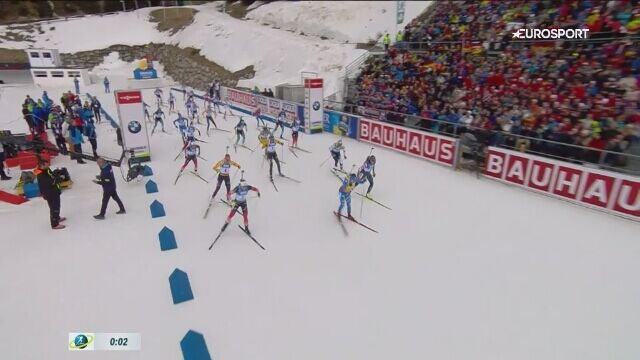 Skrót biegu masowego kobiet w mistrzostwach świata w Anterselvie