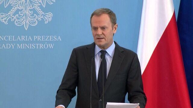 Tusk: oczekiwania wzrostu płacy minimalnej nie pomogą w walce z bezrobociem