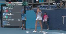 Tokio. Tenis: piłka setowa dla Bencic w półfinale z Rybakiną