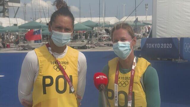 Agnieszka Skrzypulec i Jolanta Ogar po drugim dniu żeglarskiej rywalizacji w klasie 470