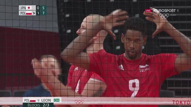 Tokio. Siatkówka: Polska powiększa przewagę w 2. secie meczu z Japonią