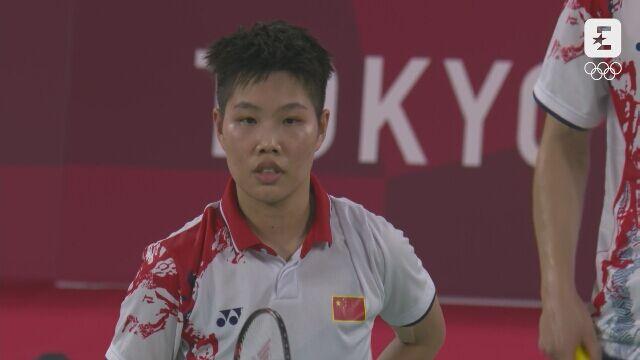 Tokio. Badminton: niesamowita wymiana w finale par mieszanych