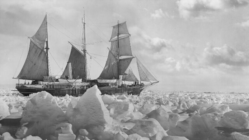Wyprawa Shackletona na zdjęciach Franka Hurley'a