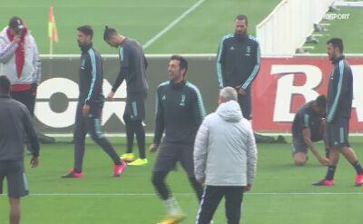 Juventus szykuje się na mecz z Lyonem w LM