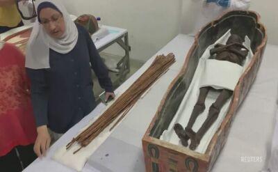 Naukowcy pokazali dwie egipskie mumie. Zostaną przeniesione do muzeum