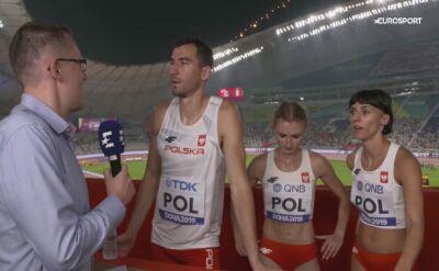 Pewny awans polskiej sztafety mieszanej do finału