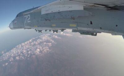 Nalot rosyjskiego bombowca Su-24 w Syrii