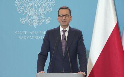 Morawiecki: w stosunkach międzynarodowych potrzebujemy twardości i roztropności