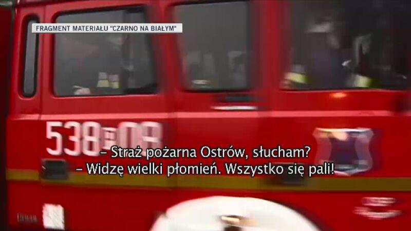 Pierwsze zgłoszenia o wybuchu gazu w Jankowie Przygodzkim