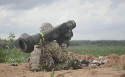Żołnierze USA ćwiczą z pociskami Javelin