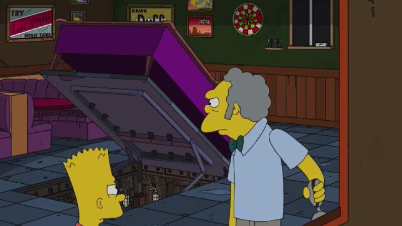 W 600. odcinku Bart wcielił się w postać agenta specjalnego. W Polsce serial emitowany jest na kanale FOX Comedy