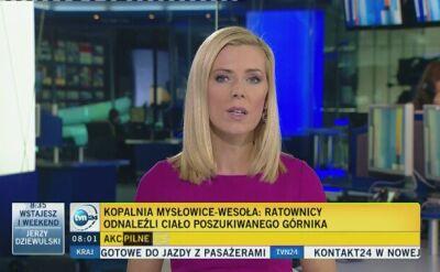 Ciało górnika odnaleziono w kopalni Mysłowice-Wesoła po 12 dniach