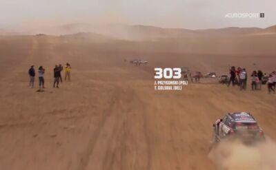 Przygoński po raz kolejny na podium Rajdu Dakar