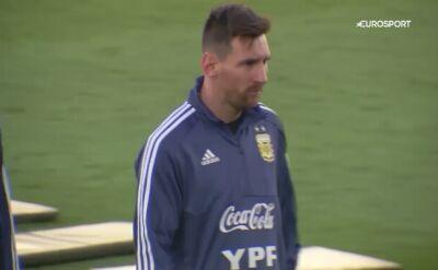 Messi wziął udział we wtorkowym treningu Argentyny