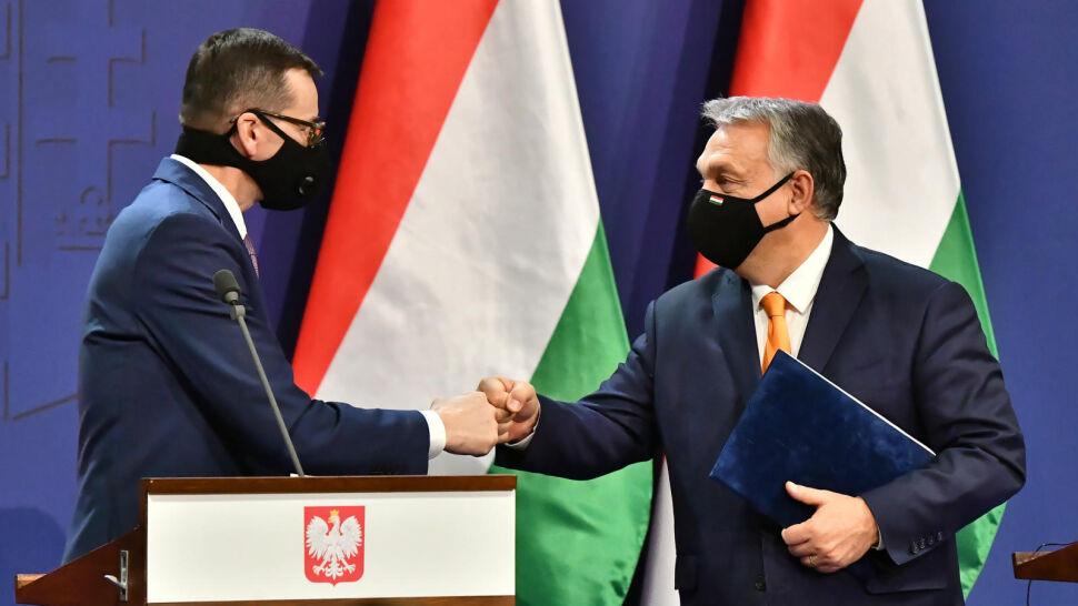 """""""Weto bazowym scenariuszem"""". Morawiecki i Orban wspólnym głosem o budżecie UE"""