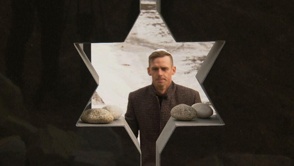 Polski olimpijczyk uporządkował zapomniany żydowski cmentarz