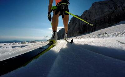 Lodowiec Dachstein, widok zapiera dech. To tam Justyna Kowalczyk prowadzi trening biegaczek