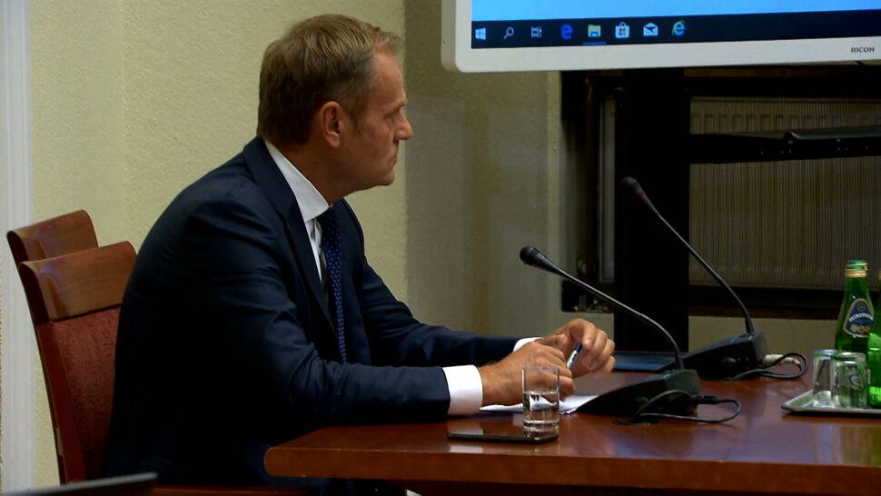Donald Tusk zeznawał przed komisją ds. VAT