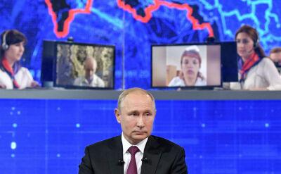 Prawie dwa miliony pytań do Władimira Putina. Odpowiedział na kilkadziesiąt