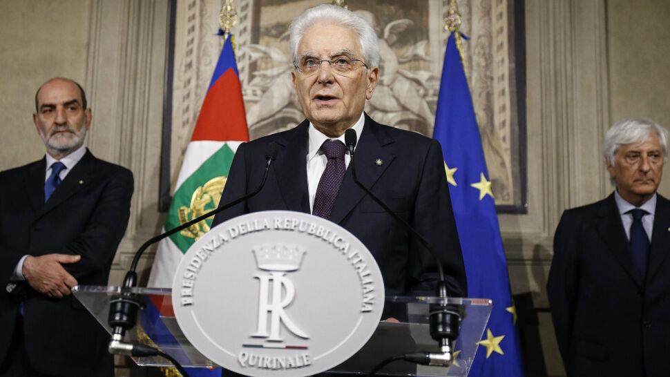 Prezydent Włoch odmówił zaprzysiężenia rządu. Będą nowe wybory