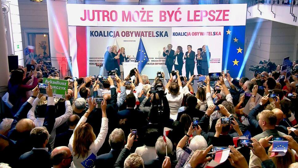 Walka o wyborców. Koalicja Obywatelska zdradza hasło i program