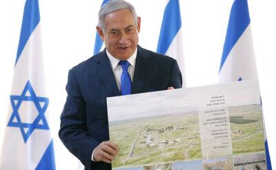 Gest Trumpa wobec Netanjahu. Napięta sytuacja po słowach o Dolinie Jordanu
