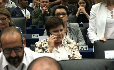 """""""Wartości nie podlegają negocjacjom"""". Europosłowie o odrzuceniu kandydatury Szydło"""