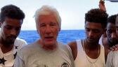 Richard Gere apeluje o przyjęcie migrantów