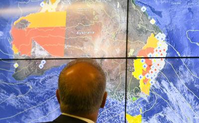 Wielkie pożary buszu w Australii zagrażają Sydney