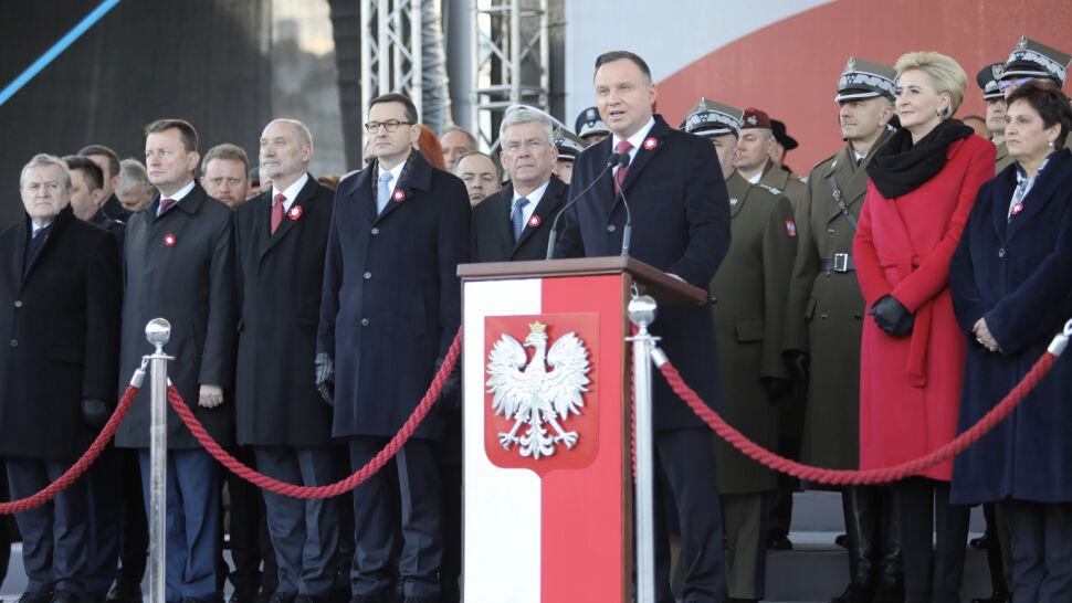 """Prezydent nawiązał do słów Dmowskiego. """"Jesteśmy Polakami i obowiązki mamy polskie"""""""