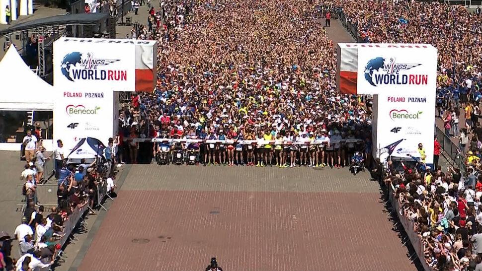 Pakiety startowe na Wings for Life World Run w Poznaniu wyprzedane w ciągu dwóch dni