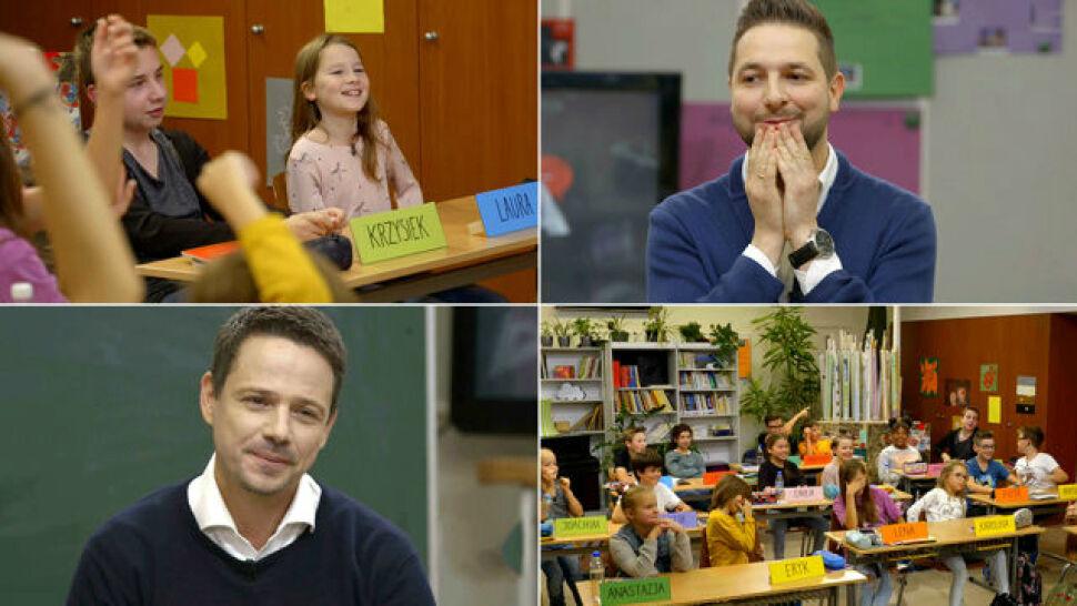 """Trzaskowski i Jaki kontra dzieci. """"Klasa"""" o 21:00 w TVN24"""