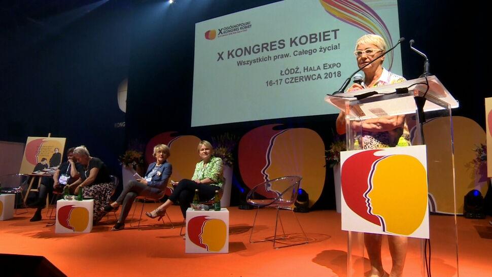 Kongres Kobiet w Łodzi. Wśród uczestników Iwona Hartwich