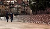 10.08.2017   Krakowskie Przedmieście zastawione barierkami. Z powodu miesięcznicy