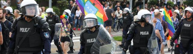 Większość zatrzymanych  w Białymstoku dostała mandaty