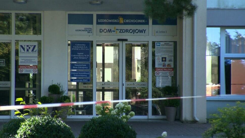 Koronawirus w sanatorium w Ciechocinku. Zakażonych jest 11 kuracjuszy