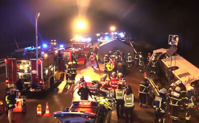 Wypadek polskiego autokaru. Są ciężko ranni