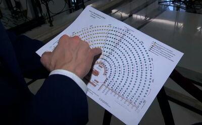 Przygotowania do inauguracji Sejmu. Zdecydowano o podziale miejsc na sali