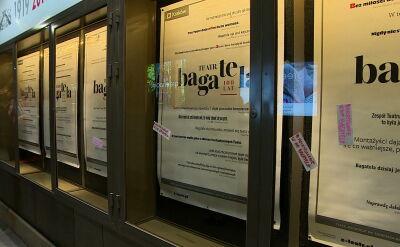 Dyrektor Teatru Bagatela złożył pisemne wyjaśnienia. Wysłano je do prokuratury