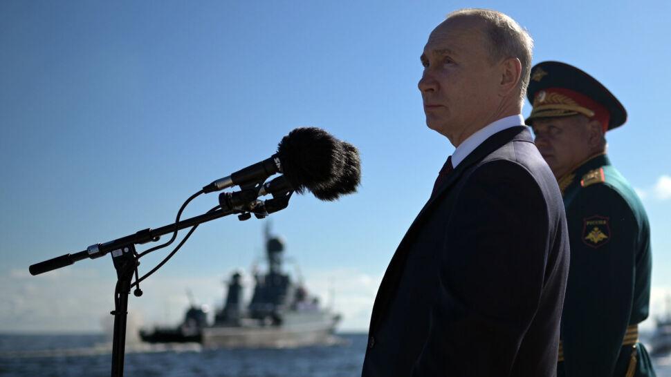 Rosja pręży muskuły. Odbyła się widowiskowa parada morska