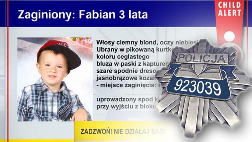 Trzyletniego Fabiana uprowadził tata. Policja szuka Sebastiana N. listem gończym