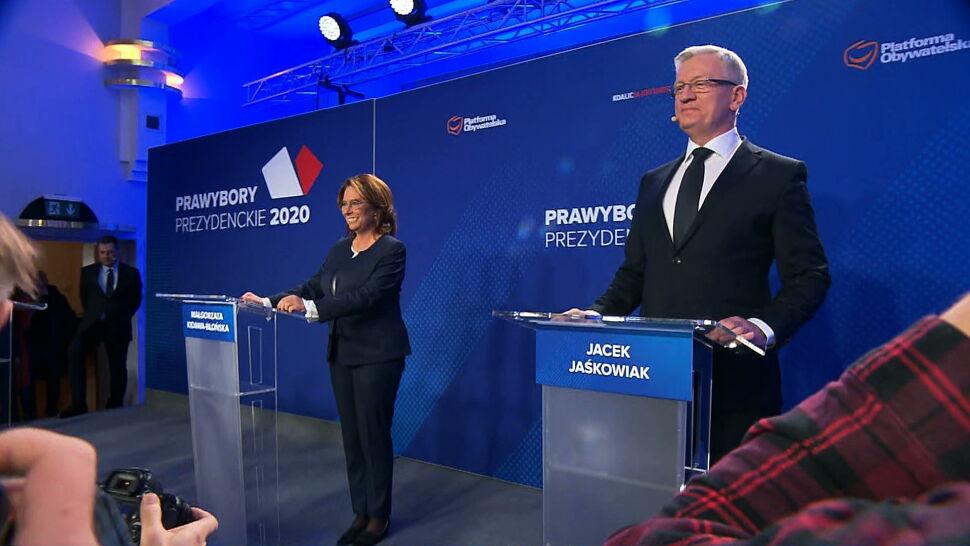 """""""Debata była ciekawa"""". Kandydaci PO przedstawili swoje poglądy"""