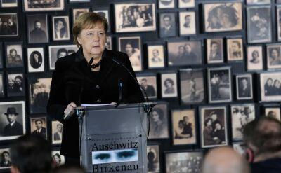 """Angela Merkel z pierwszą wizytą w Auschwitz. """"Trzeba jasno nazwać sprawców"""""""