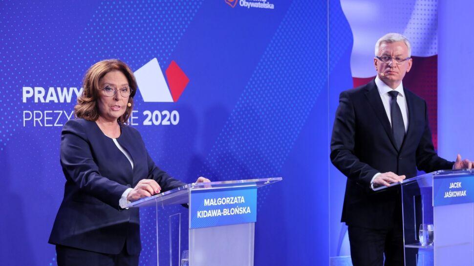 Debata kandydatów PO. Bratobójczej walki nie było